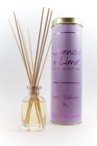 Lily-Flame Reed diffuser - Lavender & Lime 100ml